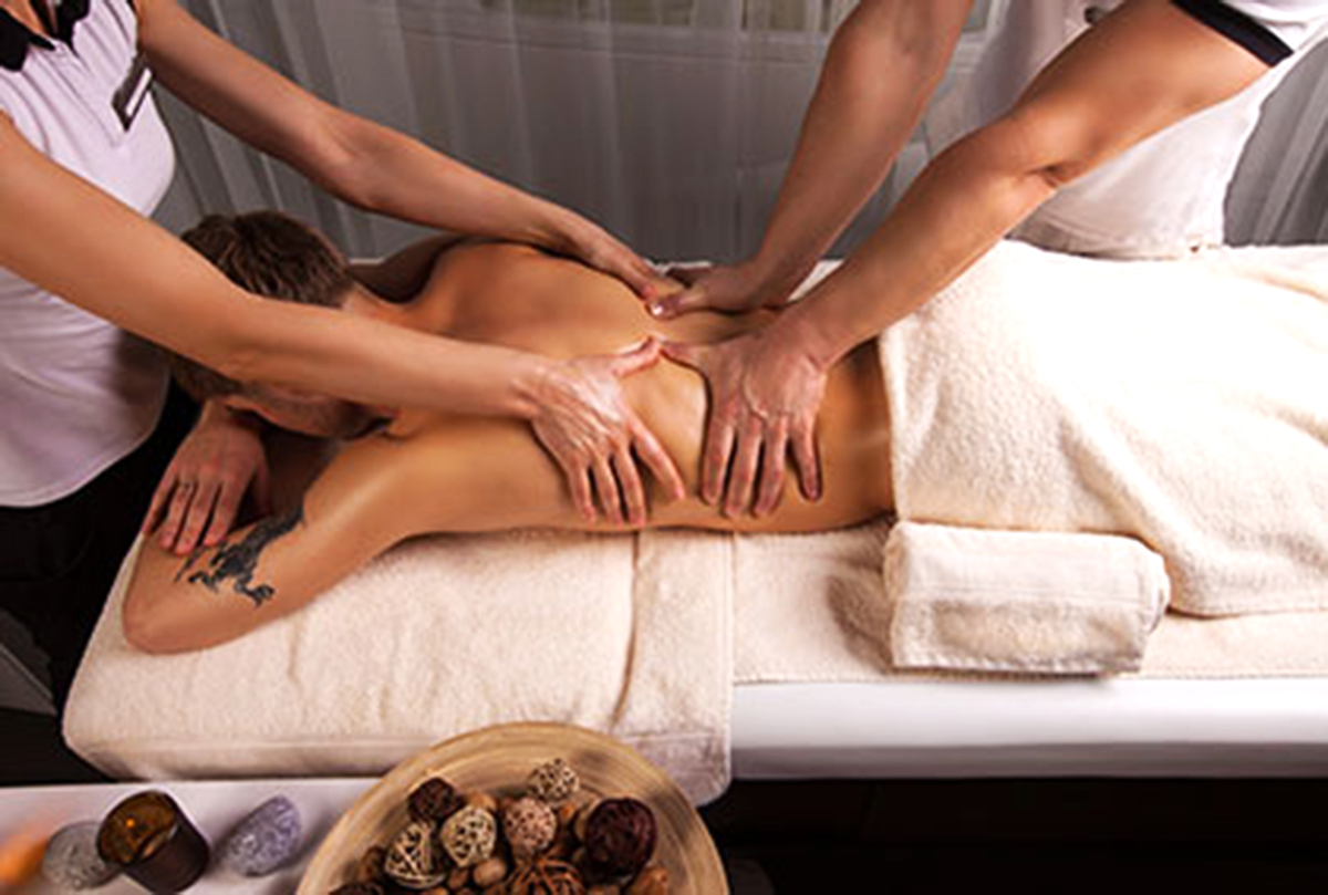 Atelier massage couple à Nantes